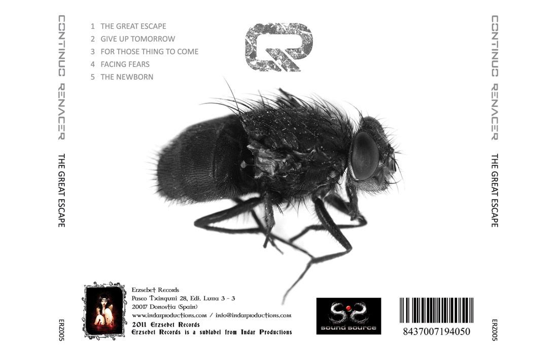 Diseño de portada de disco Continuo Renacer