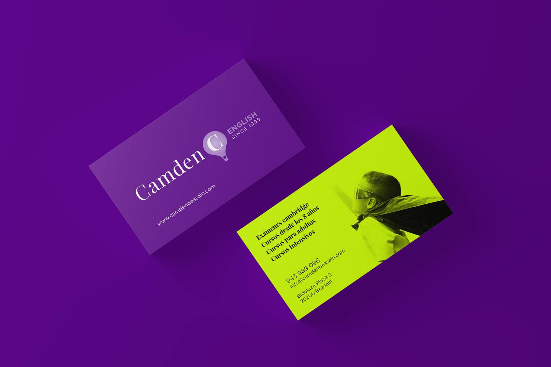 Diseño de identidad visual Camden Beasain